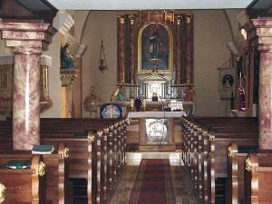 Csenye templombelső